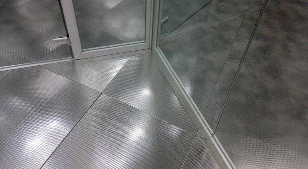 Produzione pavimenti in acciaio