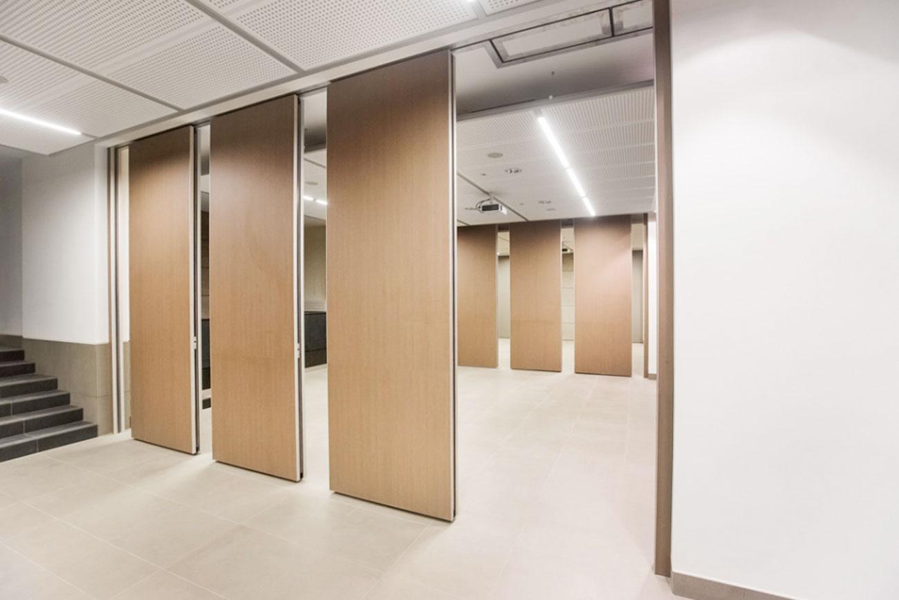 pareti manovrabili sala congressi